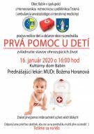 Postnutie prvej pomoci u detí
